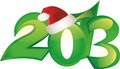 2013 new year backround Royalty Free Stock Photo