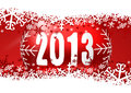 2013 new years illustration Stock Photography