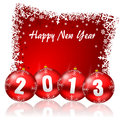 2013 new years illustration Royalty Free Stock Photography
