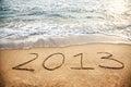 2013 nuovi anni Fotografia Stock
