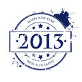 2013 rubber stamp Royalty Free Stock Photo