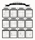 2014 Big Professional Business Calendar Stock Image
