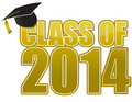 2014 Graduation Royalty Free Stock Photography
