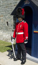 22's guard at the Citadelle in Quebec City Stock Photo