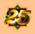 Číslo 25 označení organizace nebo instituce