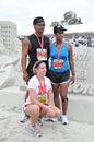 25th Long Beach Marathon 2009 Stock Photography