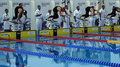 25th Universiade Belgrade 2009 - Swimming Royalty Free Stock Photo