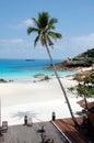 2个海滩pulau redand 免版税库存图片