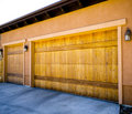 3 Car Garage Royalty Free Stock Photography