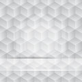 3 D cube pattern Stock Photos