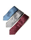 3 Different Color Neck Ties Royalty Free Stock Photo