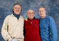 3 Generations Royalty Free Stock Photos