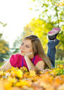 3 jesieni piękno Obrazy Stock