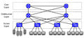 3 Layer Hierarchical Mesh Network Diagram Stock Photography