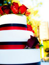 3 Tier Decorated Cake Stock Photos