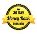 30 Day Money Back Ecommerce Badge Royalty Free Stock Photo