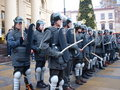 30th anniversary of Martial Law, Lublin, Poland Stock Photography