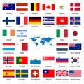 32průmyslovými země vlajka