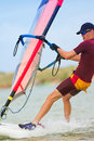 34 windsurfer Fotografia Royalty Free
