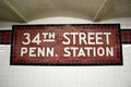 34th St. Subway Station, NYC Stock Images