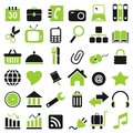 36 icon Royalty Free Stock Photos