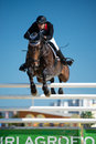 36th Postova Banka-Peugeot Grand Prix Show Jumping Royalty Free Stock Photo
