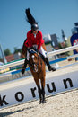 36th Postova Banka-Peugeot Grand Prix Show Jumping Stock Images