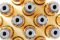 .38 Special Hollow-Point Ammunition Royalty Free Stock Photos
