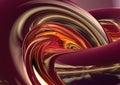 3D Abstracte Achtergrond Stock Afbeelding