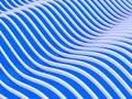 3d abstracto agita el fondo Foto de archivo libre de regalías