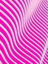 3d abstrait ondule le fond Photos libres de droits