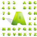 3d alphabet. Royalty Free Stock Image