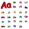 3d alphabet Royalty Free Stock Photo