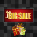 3D big sale Royalty Free Stock Photos