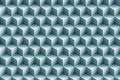 3d blue metallic cubes background Royalty Free Stock Image