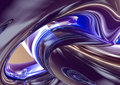 3D Blue Purple Abstract Stock Photos