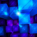 3d bright abstract background Stock Image