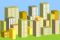 3d buildings Royalty Free Stock Photos