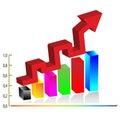 3d Business diagram.Vector Stock Photos