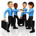 3D business team Royalty Free Stock Image