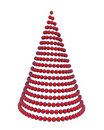3d christmas tree Royalty Free Stock Image