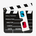3D Cinema Royalty Free Stock Photos
