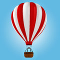 3d colorful hot air balloon Stock Images