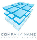 3D Company Logo Stock Photos