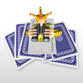3d create playing card art Stock Photo