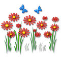 3d daisy Stock Photography