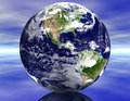 3D Earth Stock Photo