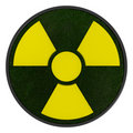 3D ecological radioactivity symbol Stock Photography