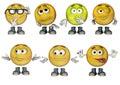 3D Emoticons set 2
