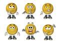 3D Emoticons set 3